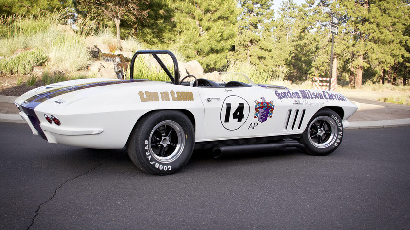 1966 Chevrolet Corvette Convertible SCCA A/Production Race Car, 1 of 15 with M22 presented as lot F154 at Monterey, CA 2013 - image9