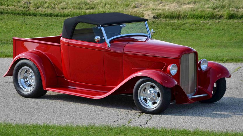 1932 Ford Roadster Pickup Street Rod LT1, Original Steel Body presented as lot F163 at Monterey, CA 2013 - image12