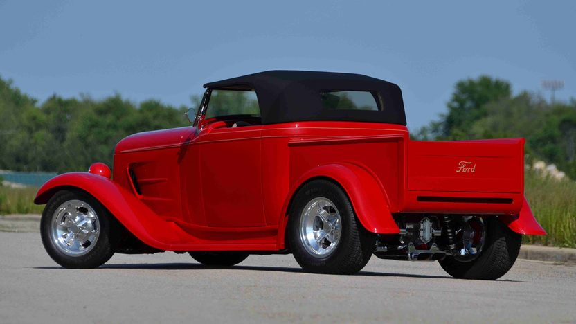 1932 Ford Roadster Pickup Street Rod LT1, Original Steel Body presented as lot F163 at Monterey, CA 2013 - image3