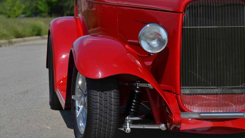 1932 Ford Roadster Pickup Street Rod LT1, Original Steel Body presented as lot F163 at Monterey, CA 2013 - image9