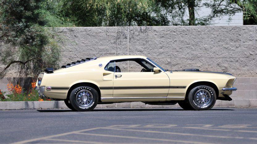 1969 Ford Mustang Mach 1 Fastback 428 CJ, Original Build Sheet presented as lot F168 at Monterey, CA 2013 - image2