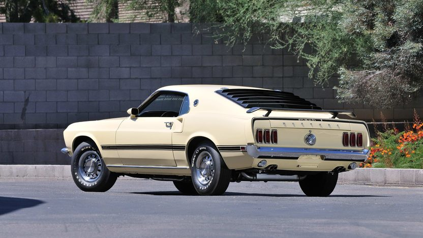 1969 Ford Mustang Mach 1 Fastback 428 CJ, Original Build Sheet presented as lot F168 at Monterey, CA 2013 - image3