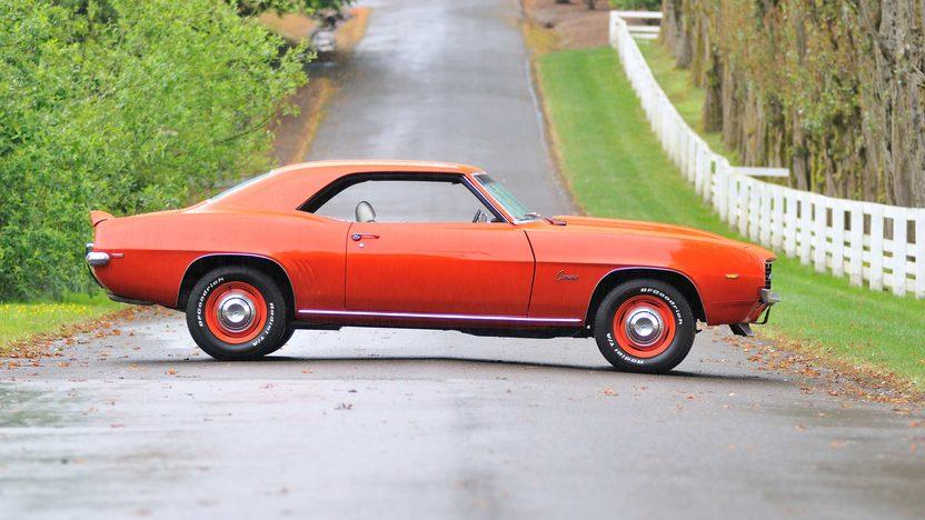 1969 Chevrolet Camaro COPO Replica 454 CI, 4-Speed presented as lot F170 at Monterey, CA 2013 - image2