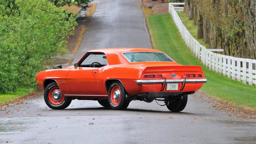 1969 Chevrolet Camaro COPO Replica 454 CI, 4-Speed presented as lot F170 at Monterey, CA 2013 - image3