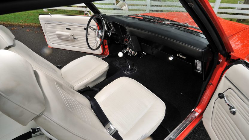 1969 Chevrolet Camaro COPO Replica 454 CI, 4-Speed presented as lot F170 at Monterey, CA 2013 - image5