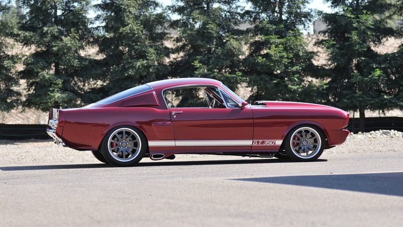 1966 Ford Mustang Fastback Award-Winning Resto Mod presented as lot F172 at Monterey, CA 2013 - image2