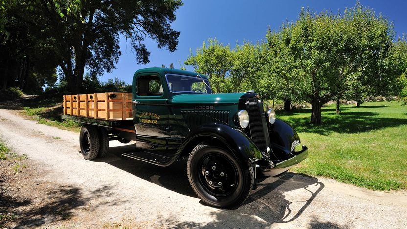 1934 Dodge Flat Bed Pickup 218 CI, 4-Speed, Body-off Restoration presented as lot F184 at Monterey, CA 2013 - image2