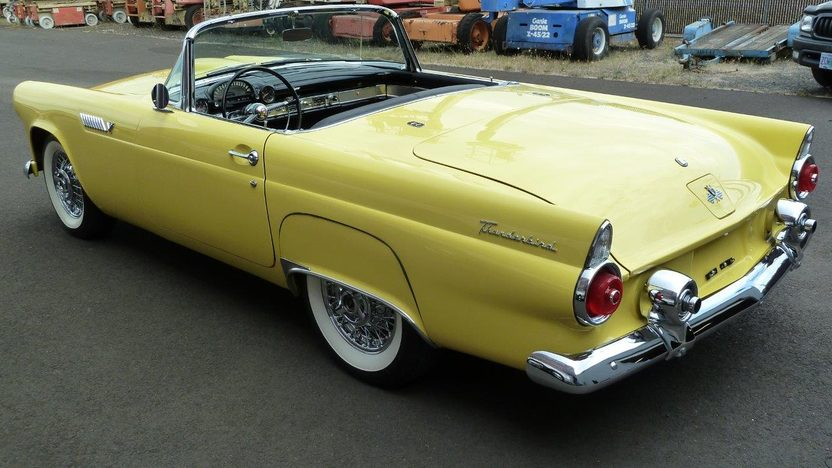 1955 Ford Thunderbird 292 CI, Automatic presented as lot F187 at Monterey, CA 2013 - image3