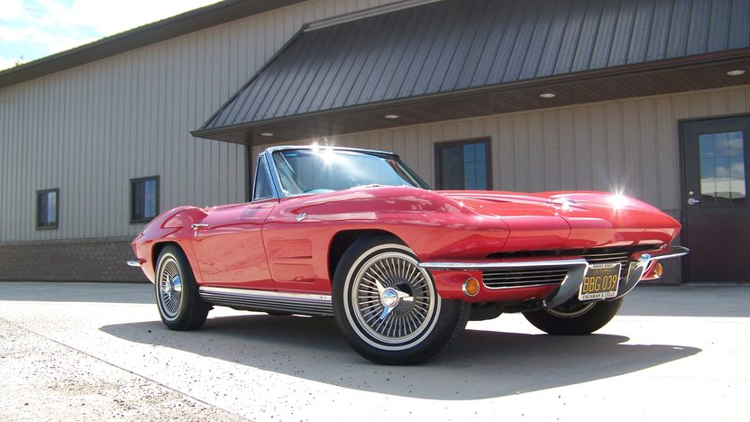 1964 Chevrolet Corvette Convertible Three Owner California Car presented as lot F191 at Monterey, CA 2013 - image10