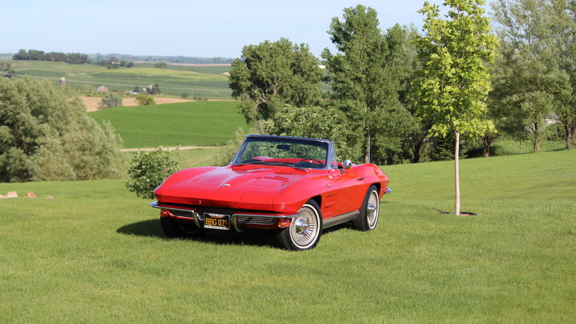1964 Chevrolet Corvette Convertible Three Owner California Car presented as lot F191 at Monterey, CA 2013 - image9