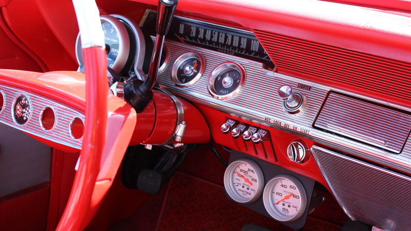 1961 Chevrolet Impala Convertible Crate 383 CI, Aluminum Heads presented as lot F192 at Monterey, CA 2013 - image2