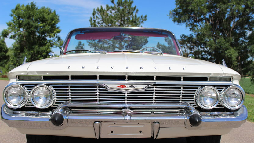 1961 Chevrolet Impala Convertible Crate 383 CI, Aluminum Heads presented as lot F192 at Monterey, CA 2013 - image5