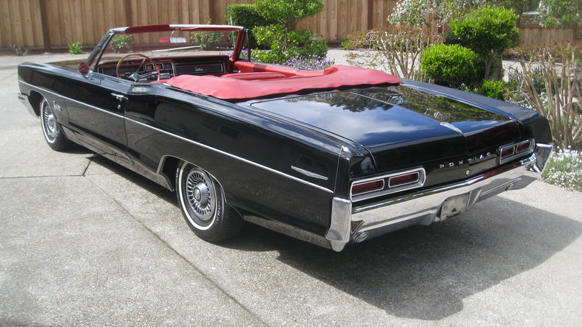 1966 Pontiac Catalina Convertible 389 CI, Automatic presented as lot F213 at Monterey, CA 2013 - image3