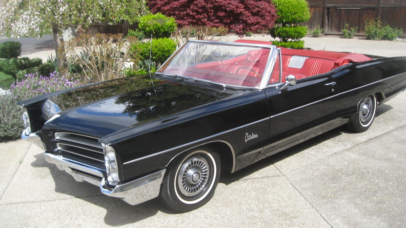 1966 Pontiac Catalina Convertible 389 CI, Automatic presented as lot F213 at Monterey, CA 2013 - image8