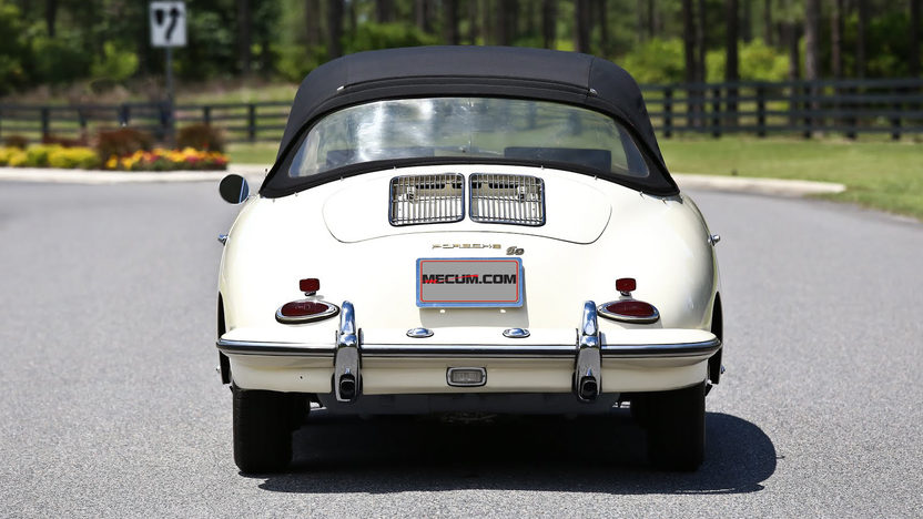 1963 Porsche 356B T6 Cabriolet presented as lot S63 at Monterey, CA 2013 - image3