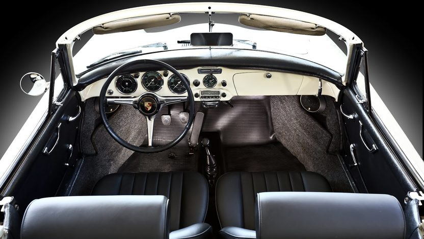 1963 Porsche 356B T6 Cabriolet presented as lot S63 at Monterey, CA 2013 - image4