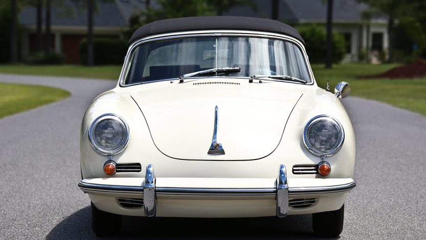 1963 Porsche 356B T6 Cabriolet presented as lot S63 at Monterey, CA 2013 - image8