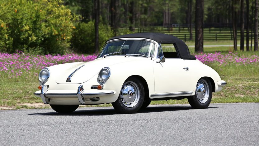 1963 Porsche 356B T6 Cabriolet presented as lot S63 at Monterey, CA 2013 - image9