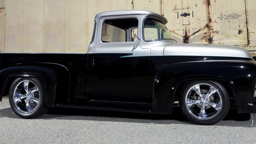 1956 Ford F100 Pickup 408/504 HP, Automatic presented as lot S83 at Monterey, CA 2013 - image2