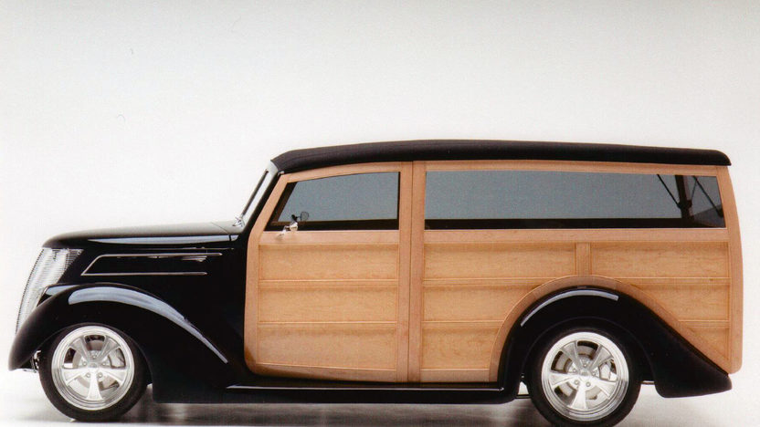1937 Ford Woody Wagon 355 CI, Steel Body with Maple Paneling presented as lot S85 at Monterey, CA 2013 - image2