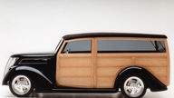 1937 Ford Woody Wagon 355 CI, Steel Body with Maple Paneling presented as lot S85 at Monterey, CA 2013 - thumbail image2