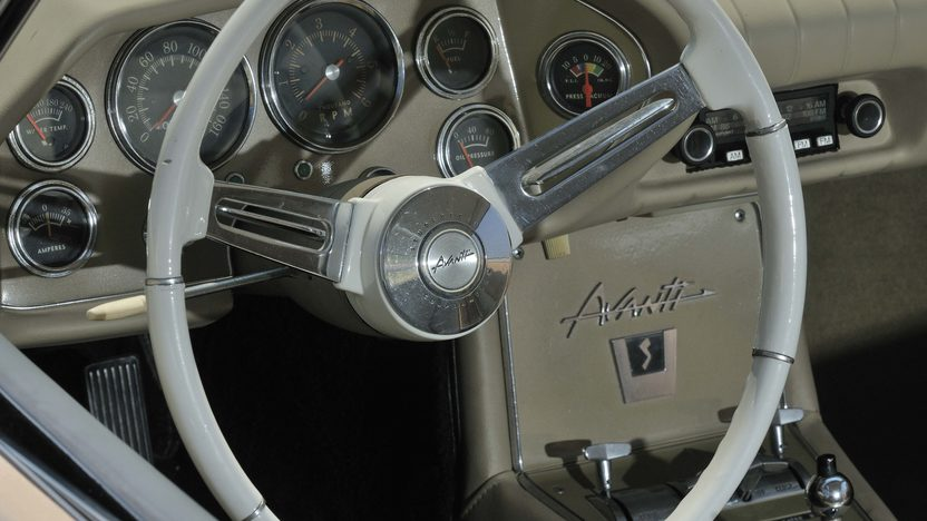 1963 Studebaker Avanti Coupe Dealer Installed R3 Package presented as lot S89 at Monterey, CA 2013 - image7