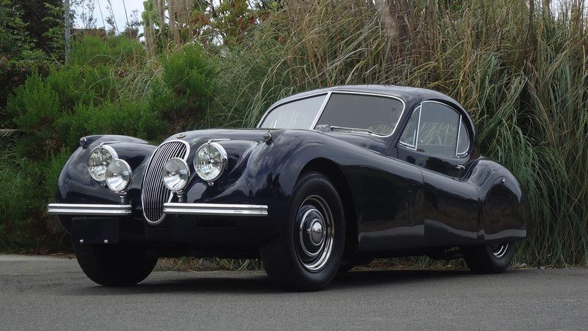 jaguar xk fixed head coupe mecum monterey
