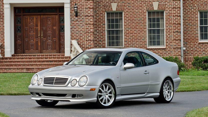 1999 Mercedes-Benz CLK60 GT RENNtech Widebody presented as lot S123 at Monterey, CA 2013 - image12