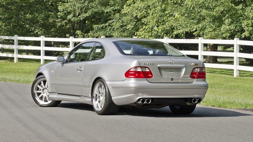 1999 Mercedes-Benz CLK60 GT RENNtech Widebody presented as lot S123 at Monterey, CA 2013 - image2