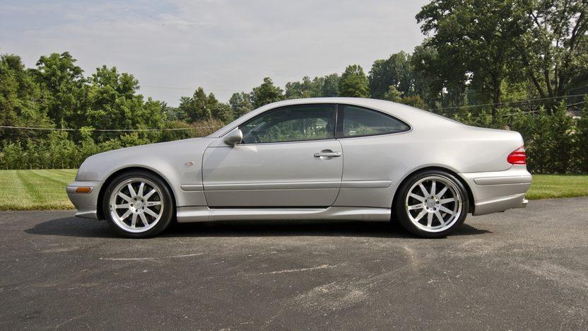 1999 Mercedes-Benz CLK60 GT RENNtech Widebody presented as lot S123 at Monterey, CA 2013 - image3