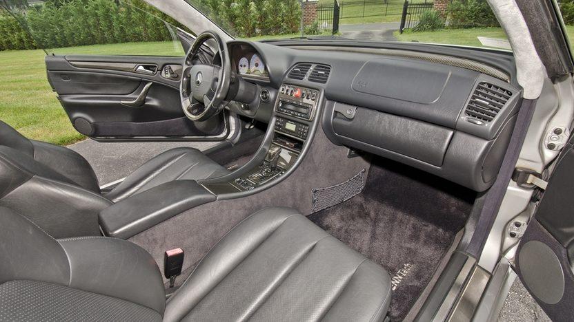 1999 Mercedes-Benz CLK60 GT RENNtech Widebody presented as lot S123 at Monterey, CA 2013 - image4
