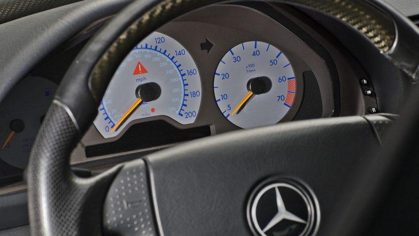 1999 Mercedes-Benz CLK60 GT RENNtech Widebody presented as lot S123 at Monterey, CA 2013 - image5