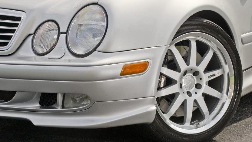 1999 Mercedes-Benz CLK60 GT RENNtech Widebody presented as lot S123 at Monterey, CA 2013 - image9