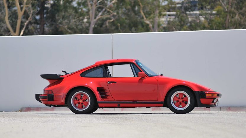 1987 Porsche 911 Turbo Slantnose 1 of 144 Built in 1987 presented as lot S130 at Monterey, CA 2013 - image2