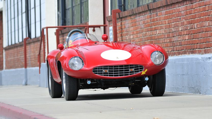 1954 Ferrari 750 Monza Spider Scaglietti S/N 0462MD, Known Ownership History From New presented as lot S132 at Monterey, CA 2013 - image12