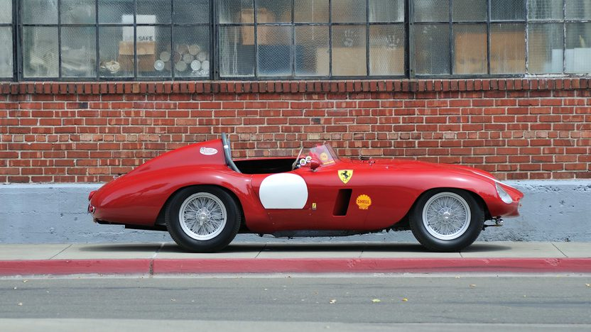 1954 Ferrari 750 Monza Spider Scaglietti S/N 0462MD, Known Ownership History From New presented as lot S132 at Monterey, CA 2013 - image2