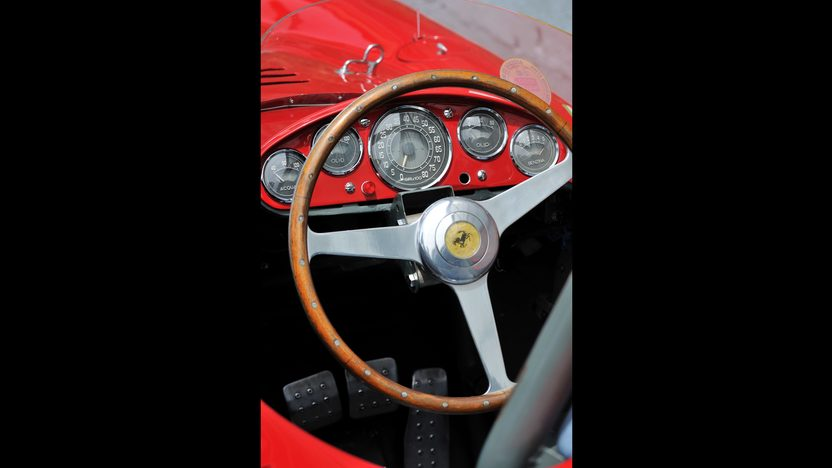 1954 Ferrari 750 Monza Spider Scaglietti S/N 0462MD, Known Ownership History From New presented as lot S132 at Monterey, CA 2013 - image5