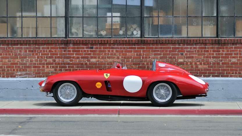 1954 Ferrari 750 Monza Spider Scaglietti S/N 0462MD, Known Ownership History From New presented as lot S132 at Monterey, CA 2013 - image9