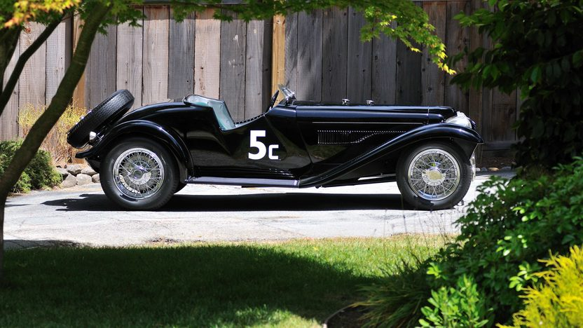 1933 Ford Auburn Special Documented Historic SCCA Race Car presented as lot S133 at Monterey, CA 2013 - image2