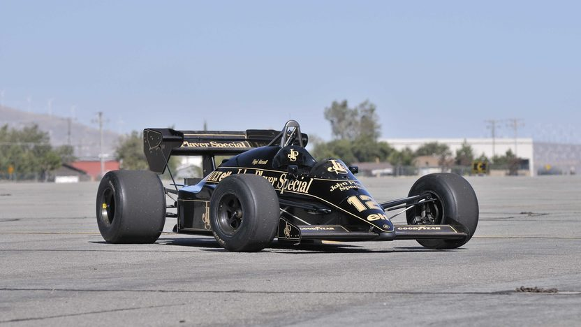 1984 Lotus Type 95T John Player Special Driven by Nigel Mansell presented as lot S138 at Monterey, CA 2013 - image12