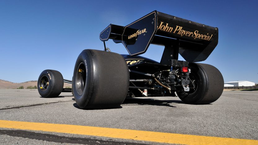 1984 Lotus Type 95T John Player Special Driven by Nigel Mansell presented as lot S138 at Monterey, CA 2013 - image9