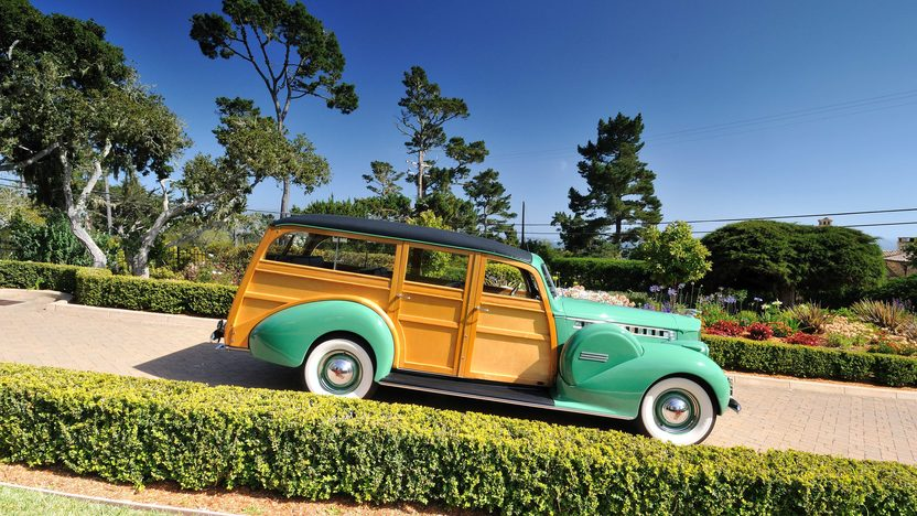1940 Packard 120 Woody Station Wagon AACA Senior Award Winner presented as lot S140 at Monterey, CA 2013 - image2