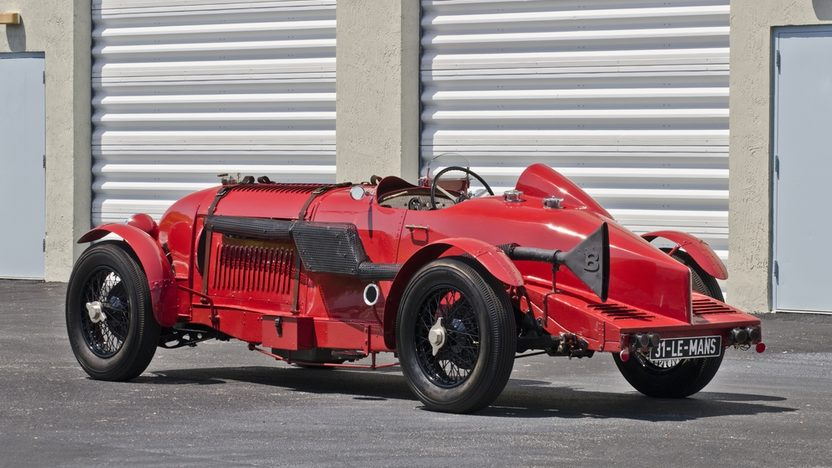 1931 Bentley Le Mans Special Modeled After the Famous Birkin Blower presented as lot S142 at Monterey, CA 2013 - image2