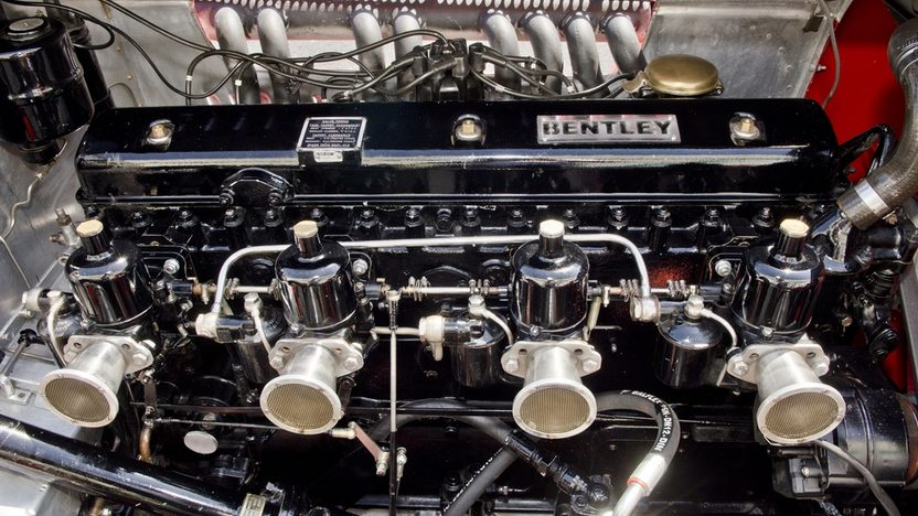 1931 Bentley Le Mans Special Modeled After the Famous Birkin Blower presented as lot S142 at Monterey, CA 2013 - image5