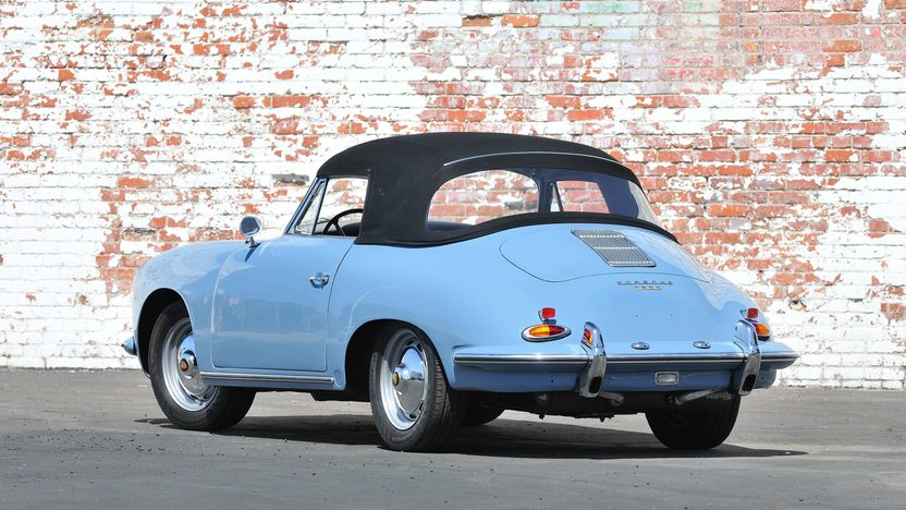 1960 Porsche 356B Reutter Cabriolet Recent Rotisserie Restoration presented as lot S143 at Monterey, CA 2013 - image12