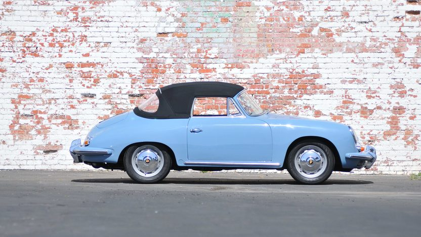 1960 Porsche 356B Reutter Cabriolet Recent Rotisserie Restoration presented as lot S143 at Monterey, CA 2013 - image2