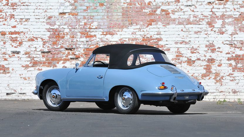 1960 Porsche 356B Reutter Cabriolet Recent Rotisserie Restoration presented as lot S143 at Monterey, CA 2013 - image3