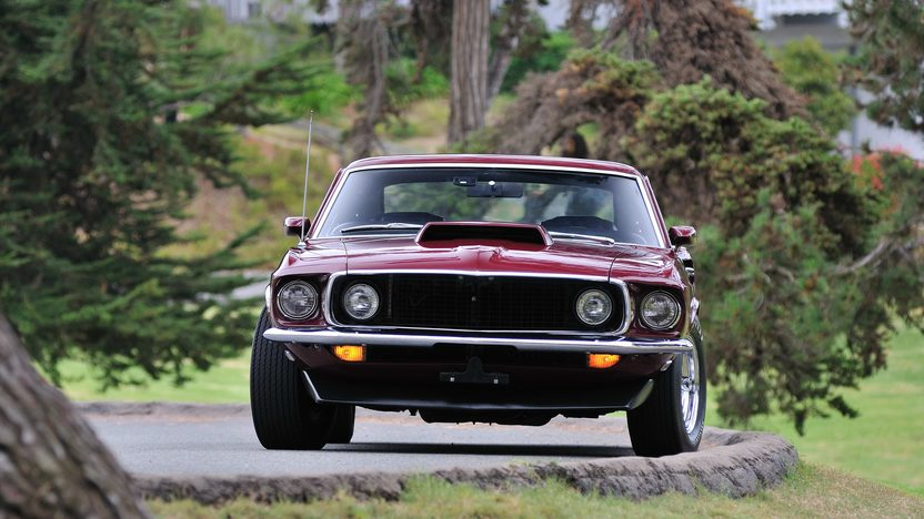 1969 Ford Mustang Boss 429 Fastback KK #1687 presented as lot S144 at Monterey, CA 2013 - image11