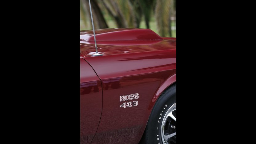 1969 Ford Mustang Boss 429 Fastback KK #1687 presented as lot S144 at Monterey, CA 2013 - image9