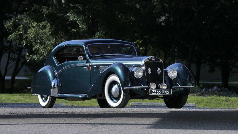 1938 Delage D8-120 Aerosport Coupe